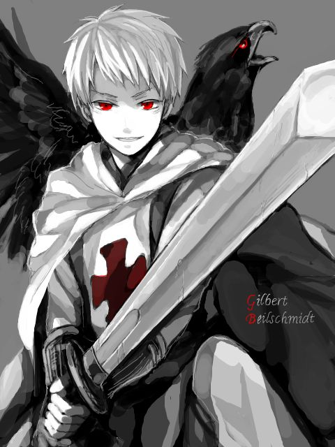 Hetalia Prussia Gilbert Beilshmidt, just because Gil is Awesome!