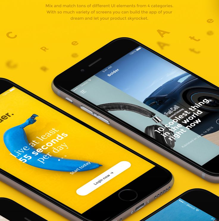 UI & UX Design / Bolder on Behance