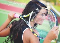 Tennis Senior Pictures