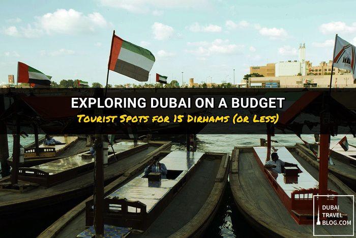 exploring dubai on a budget