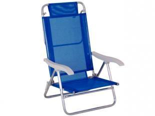 Cadeira Reclinável Sol de Verão 6 Posições - Mor 2105