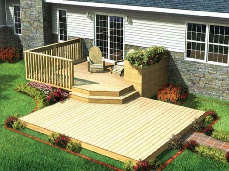 Find The Right House Deck Plans With Minimized Design. Patio Deck  DesignsPatio ...