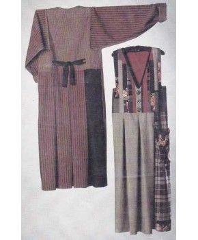Jumpina Jumper or Dress Sewing Pattern Size 4- 20 by Nancy Mirman NM253 Uncut