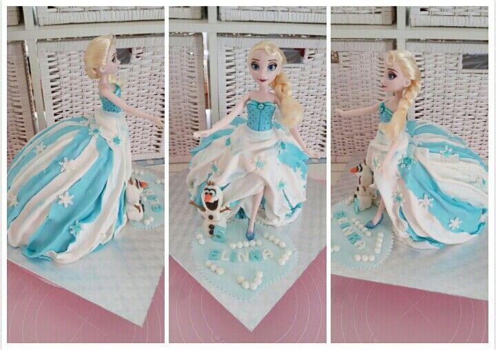 Elsa pro neteř k pátým narozeninám
