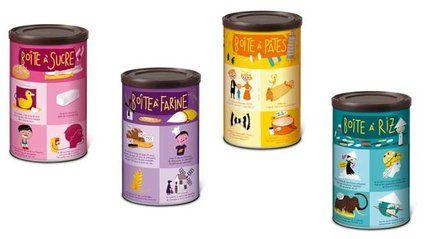 Déco récup' : réutiliser les boîtes alimentaires // http://www.deco.fr/deco-piece/decoration-cuisine/actualite-515063-deco-recup-reutiliser-boites-alimentaires.html