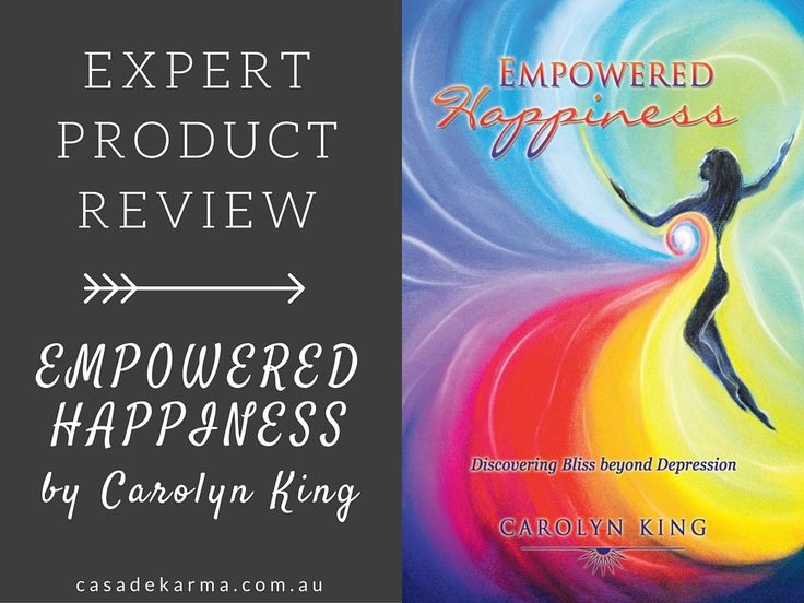 REVIEWED | Empowered Happiness by Carolyn King. Click the link to read what I thought of the book and who I'd recommend it to.