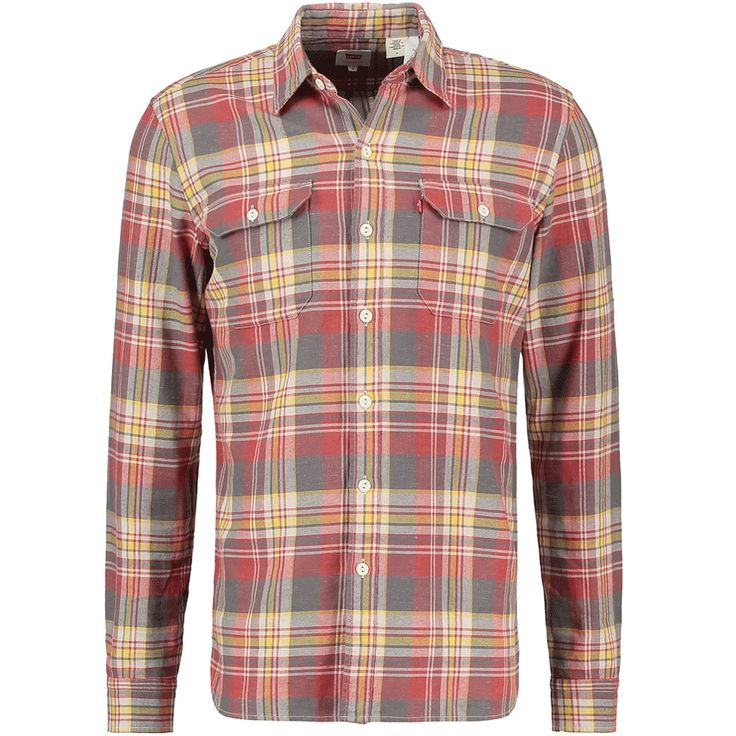 Levi's Jackson Worker Red Yellow Check Shirt 19573 0049