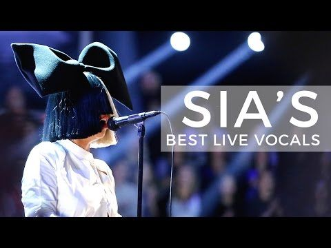 Sia's Best Live Vocals - YouTube