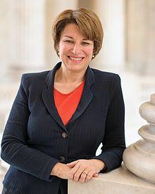 Amy Klobuchar, official portrait, 113th Congress. from Minnesota