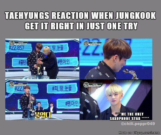 JUNGKOOK WHY YOU DO THIS?! ? It was really funny XD <3 what we can do?! he is a golden maknae