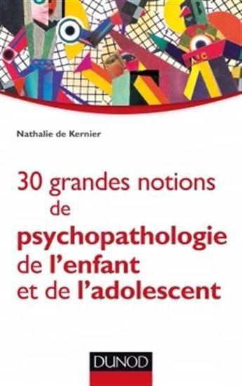 Un manuel qui présente les grandes notions de psychopathologie de l'enfant et de l'adolescent, illustré de définitions, exemples et cas cliniques.