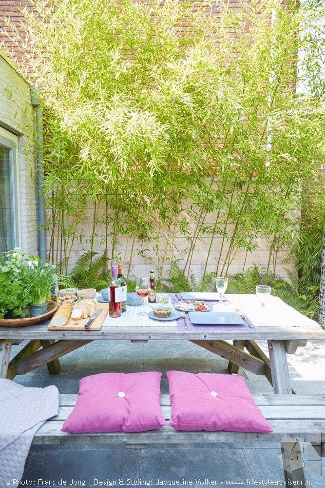 25 beste idee n over kleine buitenruimten op pinterest tuinlichtslingers en kleine buitenpatio 39 s - Kleine design lounge ...