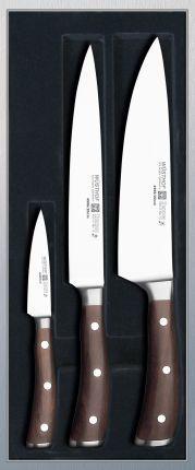 Wusthof Ikon 3 Piece Knife Set