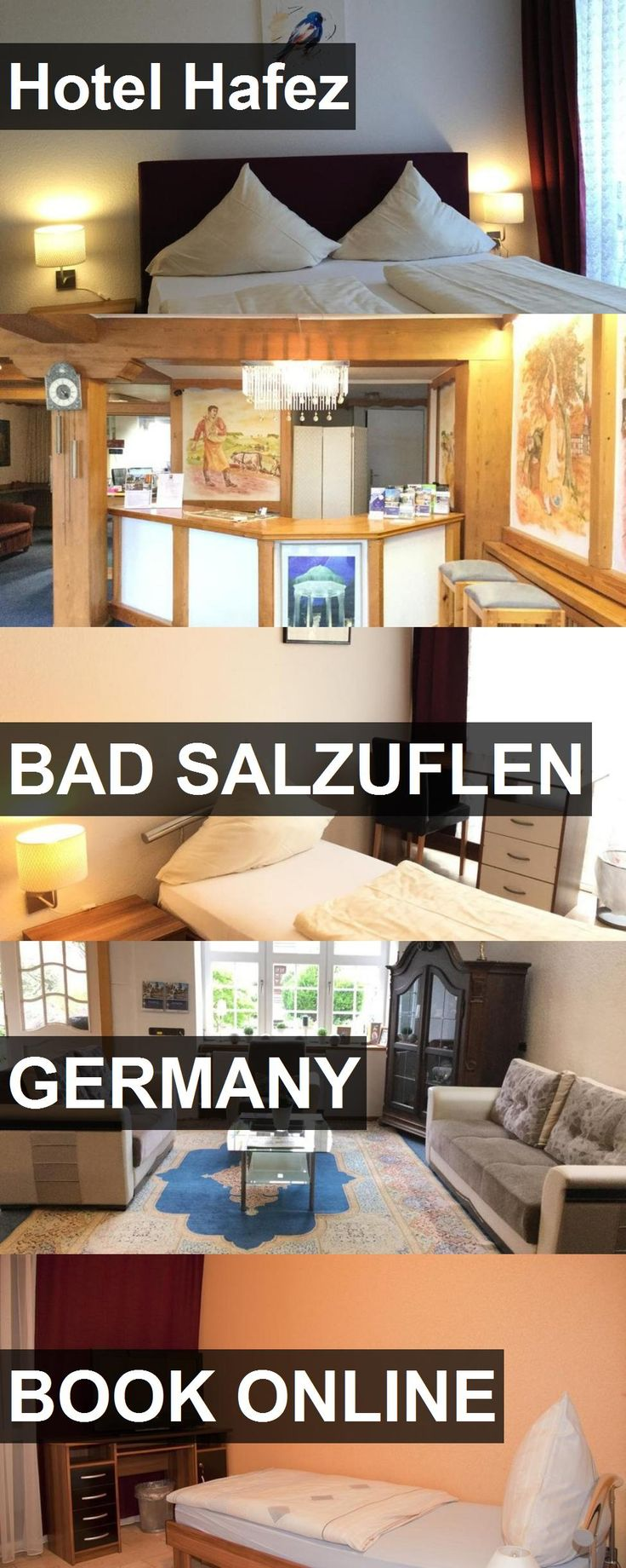 Hotel Hafez in Bad Salzuflen, Germany. For more information, photos, reviews and best prices please follow the link. #Germany #BadSalzuflen #travel #vacation #hotel