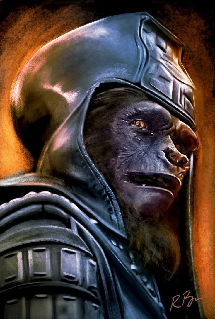 Archives Of The Apes: More Fan Creations: Ursus by Rob Birchfield - follow the link to buy this print