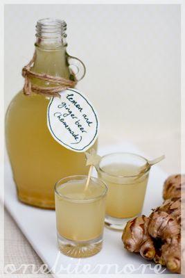 ginger & lemon beer | onebitemore