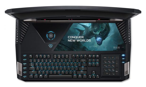 Acer Predator 21 X, Dünyanın ilk Kavisli Dizüstü Bilgisayarı CES 2017'de tanıtıldı. Fiyatları dudak uçuklatacak cinsten 9000 Dolar!