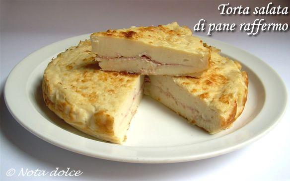 Torta salata di pane raffermo, ricetta del riciclo