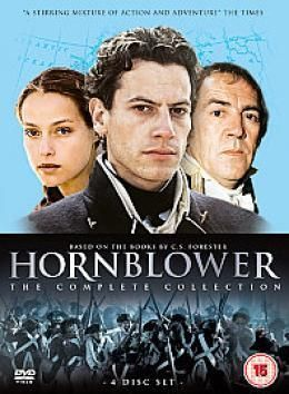 The Horatio Hornblower mini-series, based on the books by C.S.Forester, that chronicles the life of a British Naval Officer during the time of the Napoleonic Wars. Forester's writing is so good, you can almost smell the sea air. And this series really brings his stories to life. -RP