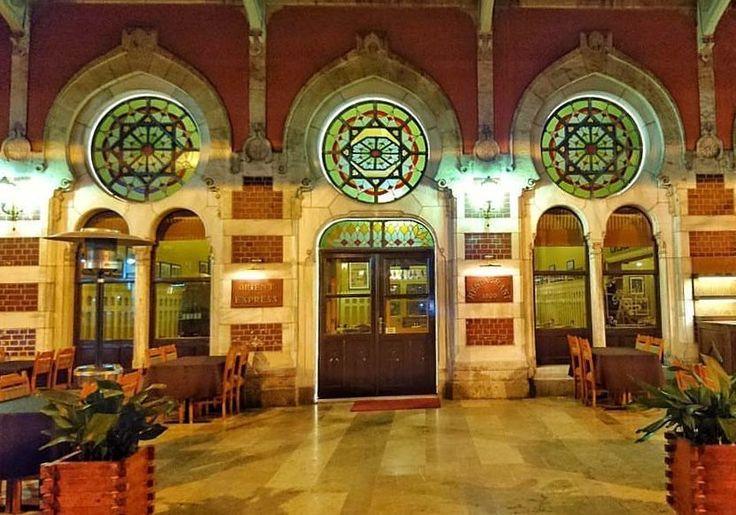 Inteiror of historical Sirkeci Train Station #train #station #sirkeci #historical #heritage #vintage #istanbul #city #travel #turkey