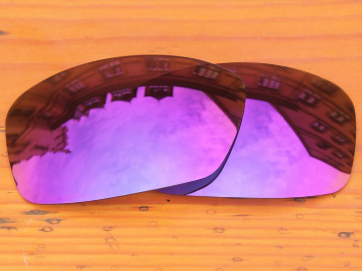 Plasma Purple Mirror Polarized Replacement Lenses For Hijinx Sunglasses Frame 100% UVA & UVB Protection