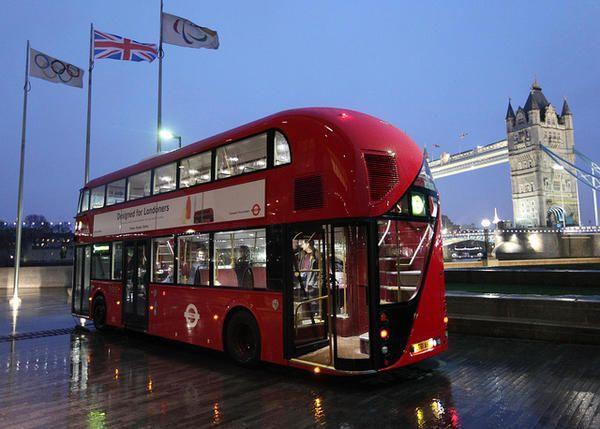 London's new Routemaster bus, designed by Thomas Heatherwick.