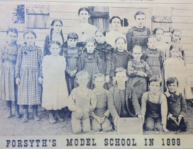 Forsyth School 1898