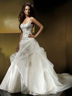 Cheap A Line Princess Wedding Dresses For Sale