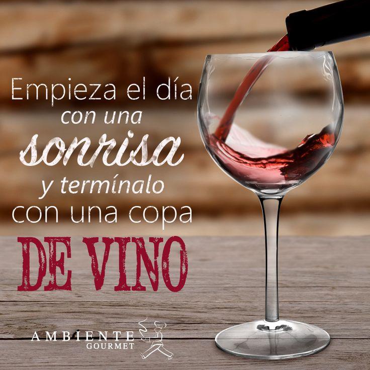 #wine Lo más importante del día no es solo empezarlo bien, si no también terminarlo mucho mejor.