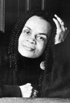 Poet Sonia Sanchez (born September 9, 1934) was part of the 1960's Black Arts Movement, and with Haki Madhubuti, Nikki Giovanni and Etheridge Knight formed the Broadside Quartet of poets. She developed Black Studies courses at SFSU and taught at Temple University from 1977 until her retirement in 1999. In addition to 18 books of poetry she has published plays, children's books and anthologies. She has been awarded the PEN writing award, Pew Fellowship and NEA Fellowship. #TodayInBlackHistory