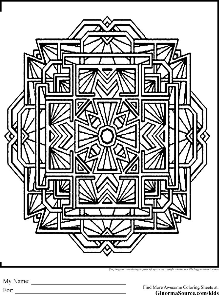 advanced coloring pages mandale tibet