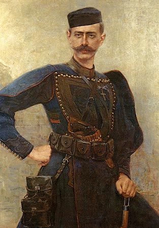 Portrait of Pavlos Melas by Georgios Jakobides (Greek 1853-1932).....Pavlos…