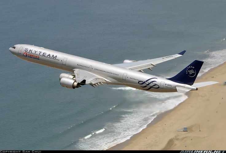 China Eastern Airlines B-6053 Airbus A340-642 aircraft picture