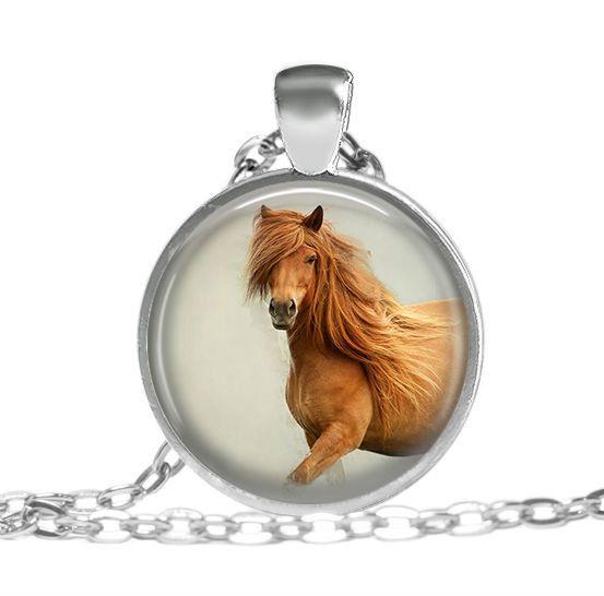 Ketten lang - Silber Halskette Pferde Kette Vintage - ein Designerstück von vintagelocket bei DaWanda