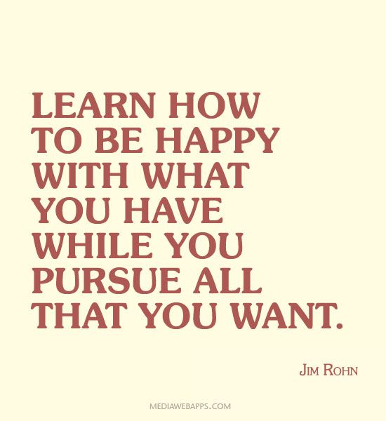 Short Sweet I Love You Quotes: Learn How To Be Happy With What You Have While You Pursue