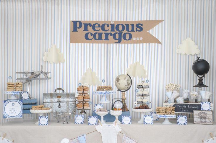 Adorable tip para la decoración de tu celebración Baby Shower. Guarda el pin #babyshower #decoracion