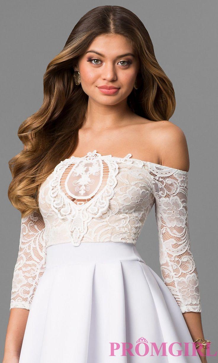 white and ivory wedding dresses promgirl regarding short white dresses for wedding reception
