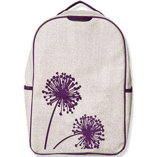 Τσάντα σχολική - Σακίδιο πλάτης (Λουλούδια)