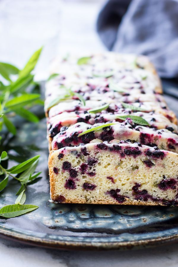 Huckleberry Lemon Verbena Tea Cake {Gluten-Free}
