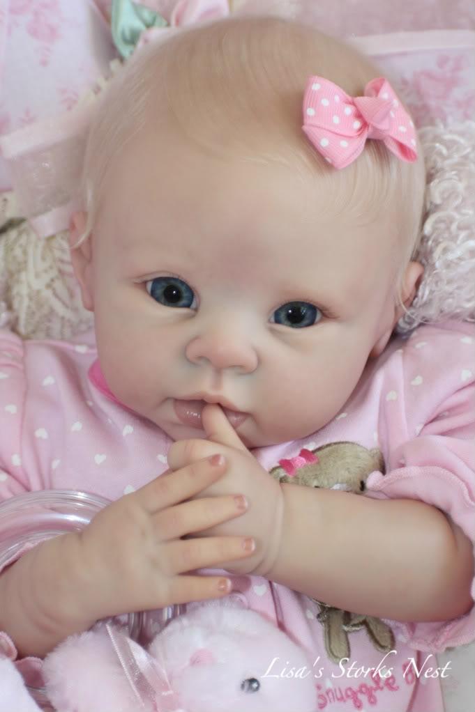 Newborn Miniature,  Polymer Clay Baby. ❤