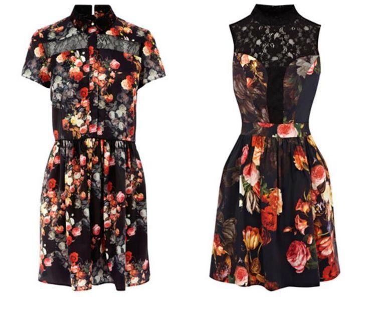 Платье в оазис
