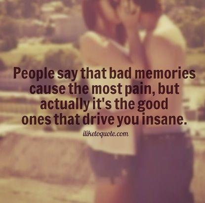 2. insane memories picture quote