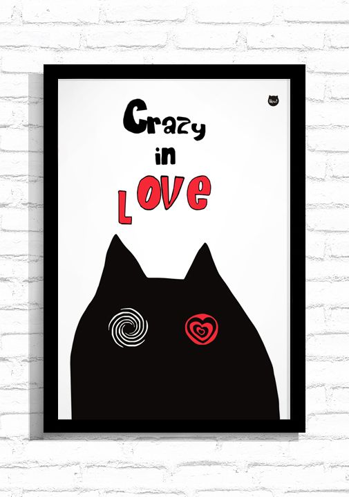 """Grafika """"Crazy in Love""""/ Graphic """"Crazy in Love"""""""