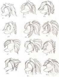 Anthro hair
