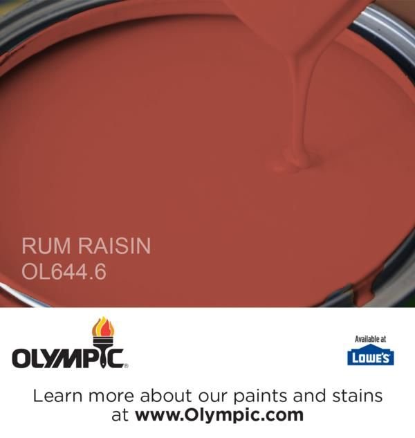 Rum Raisin Home Paint ColorsGreen