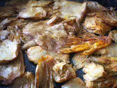 Shogun's Kitchen: ΜΑΝΙΤΑΡΙΑ ΠΛΕΥΡΩΤΟΥΣ ΣΤΟ ΦΟΥΡΝΟ ΜΕ ΜΟΥΣΤΑΡΔΑ