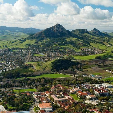 San Luis Obispo isn't just any #California coastal town. Home to California Polytechnic State University (Cal Poly), it's also one of America's best college towns.
