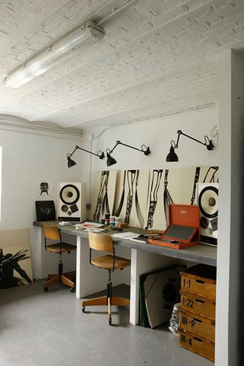 Workspace of the day: Private house in Paris by Marianne Evennou
