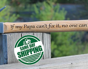 Building Memories Dad Birthday Gift Personalized Hammer For Husband
