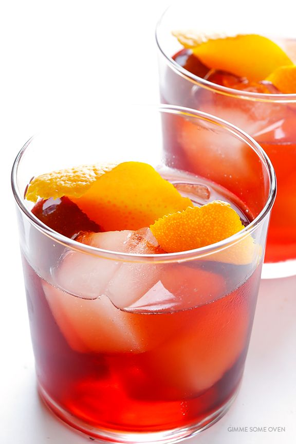 Negroni -- how to make a classic negroni cocktail with 4 ingredients